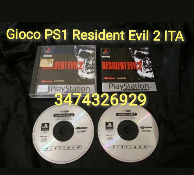 Gioco PS1 Resident Evil 2 ITA