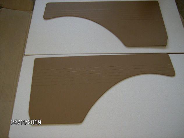 Pannelli posteriori Fiat 600d    Fiat 600e fanalona NUOVI ORIGINALI