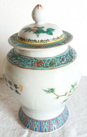 Vaso porcellana-made China-cm. 21h-1970 ca-
