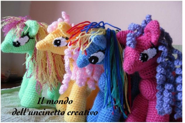 My little pony all'uncinetto