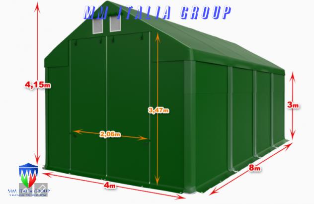 BOX CAMPER  4 X 8 ChiaraLuce CamperObló Professionali Pvc
