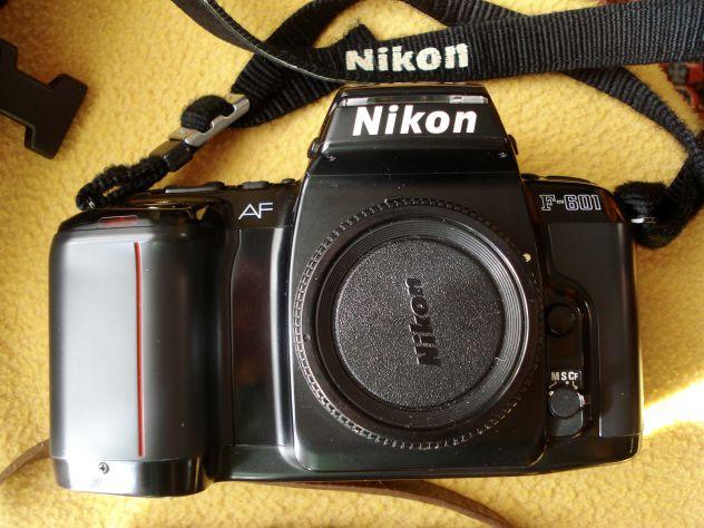 Macchina fotografica reflex NIKON AF F-601 a rullini - Foto 4