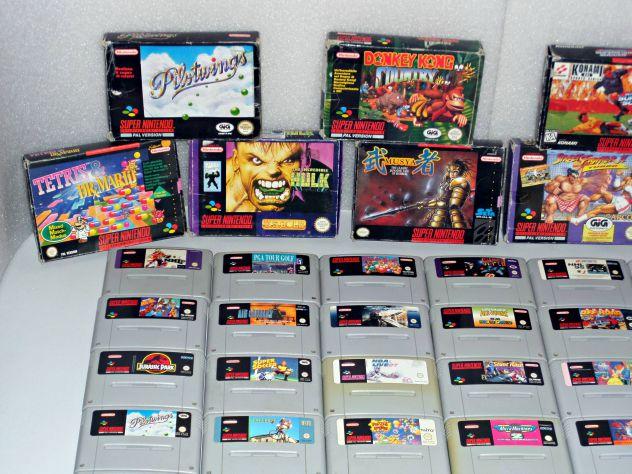 Cartucce / giochi Super Nintendo SNES (TESTATE) Boxate e loose - Foto 7