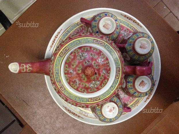Servizio da thè porcellana giapponese