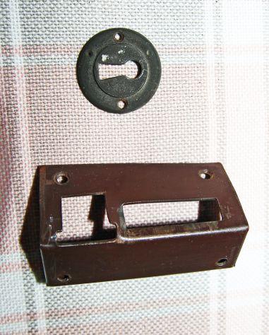 ANTICA SERRATURA DA APPLICARE con chiave - FUNZIONANTE - Foto 5