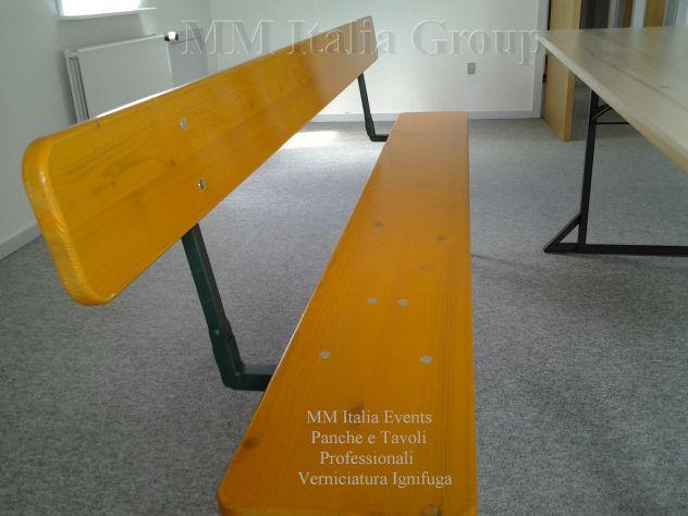 50 set panche e tavoli pieghevoli professionali per sagre noleggio - Foto 8