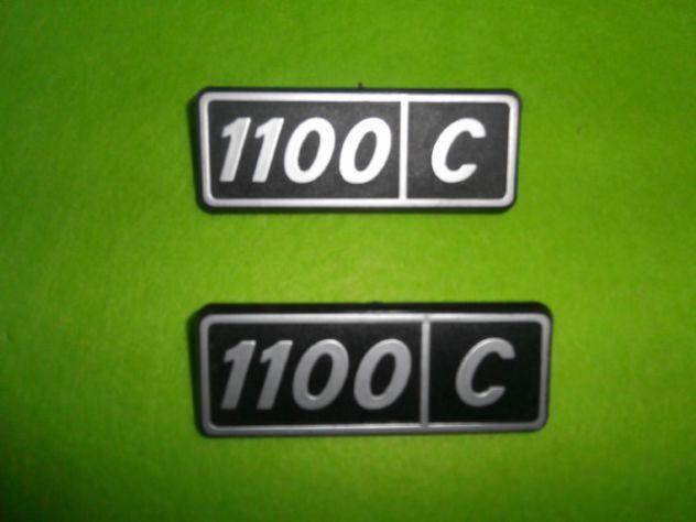 Scritte posteriori Fiat 128 1100 confort  NUOVE - Foto 3
