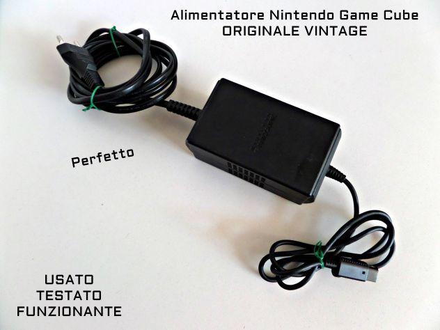 Alimentatore Nintendo GAME CUBE ORIGINALE, Funzionante