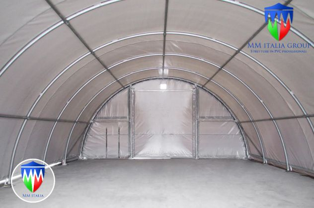 Agritunnel tunnel agricoli 9,15 x 12 x 4,5 professionali MM diam. Ø 76