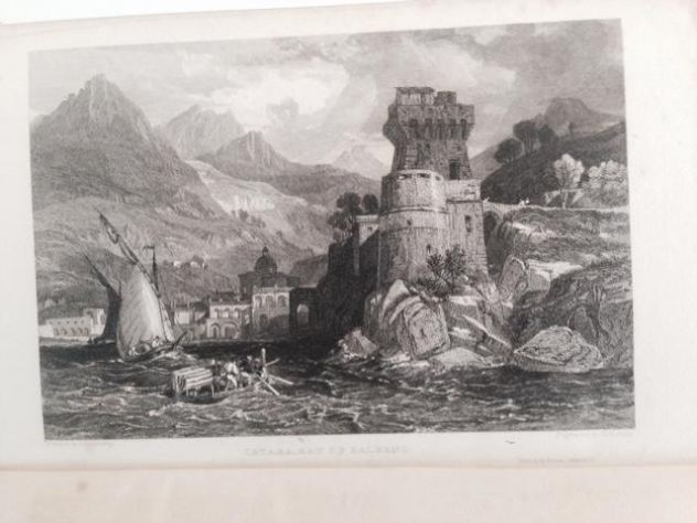 THOMAS ROSCOE THE TOURIST IN ITALY. LANDSCAPE ANNUAL 1832 - Foto 6
