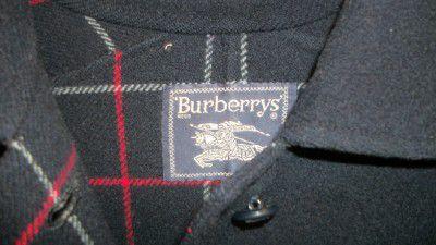 Cappotto Burberrys' originale pura lana