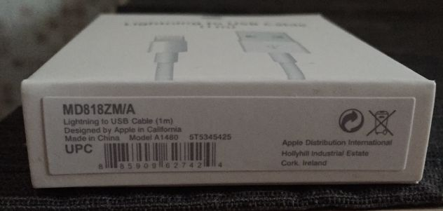 Cavo originale Apple Lightning - Foto 2