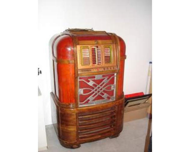 Jukebox d'epoca rock-ola