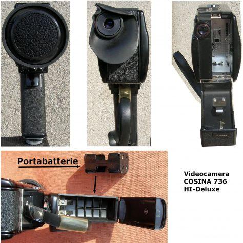 Videocamera COSINA 736 HI-Delux  silent super 8 cartridge made in Japan - Foto 6