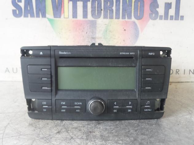 AUTORADIO SKODA OCTAVIA (1Z) (08/0401/09)