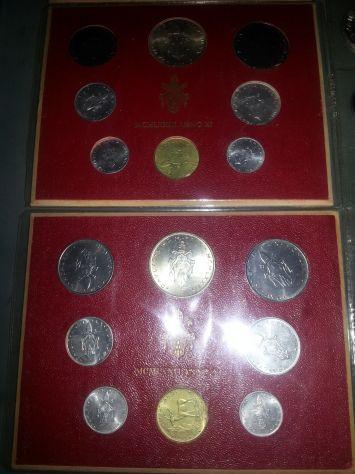 52 MONETE:6 D'ARGENTO MASSICCIO,FIOR DI CONIO,7 SERIE DIVISIONALI,VATICANO E SAN - Foto 3