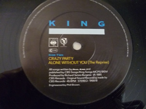 "King - The taste of your tears - 12"" - Foto 2"