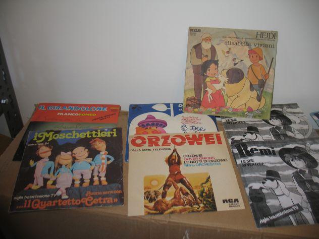 Dischi 45 giri cartoni animati anni 70 - Foto 2