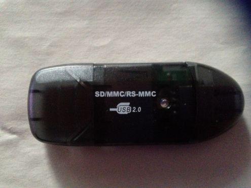 Lettore SDHC SD MMC USB 2.0 High Speed Memory - Foto 2