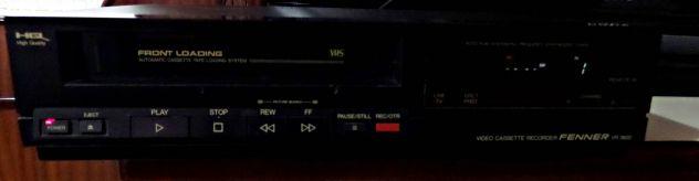 Videoregistratore VHS Fenner VR 3600 (anni 90) GUASTO - Foto 2