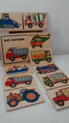 puzzle e giochi in legno