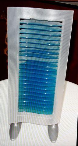 Mini Torre porta cd da tavolo in plastica colorata