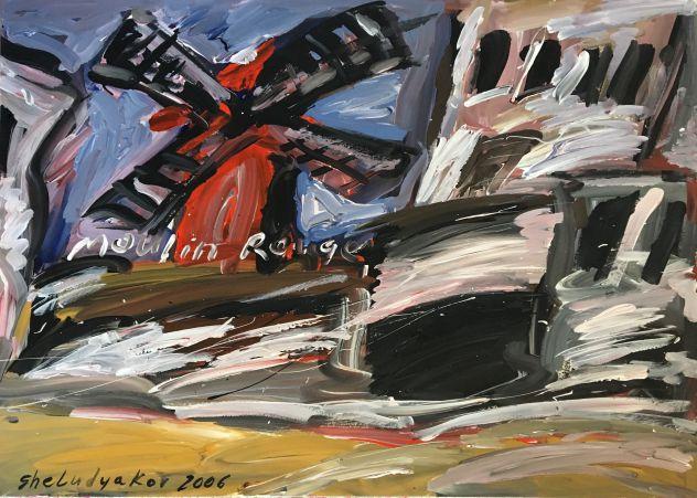 2 splendidi quadri del pittore russo Ole Sheludyakov