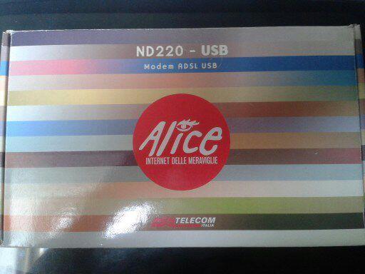 MODEM ADSL ALICE ND220