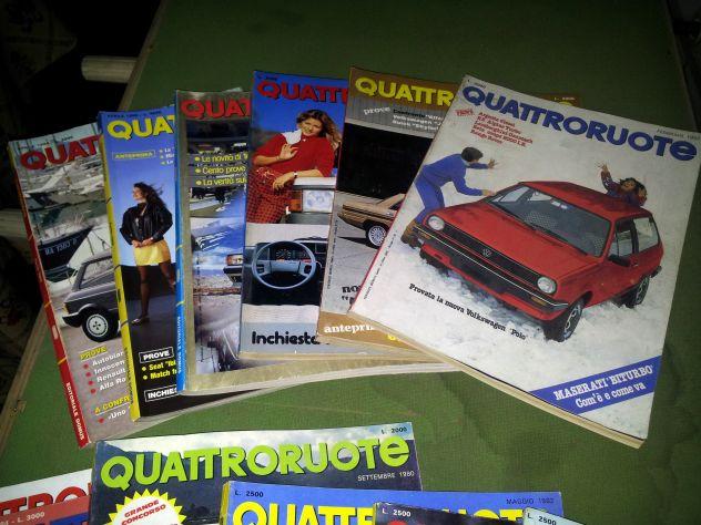 Riviste QuattroRuote 1980 - 81 - 82 - 83 - 84 - 86 - Foto 9