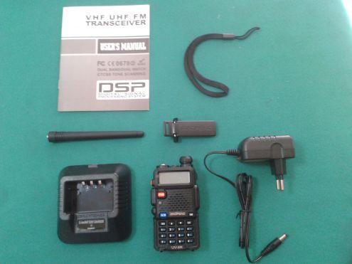 RADIO RICETRASMITTENTE DUAL BAND BAOFENG UV-5R VHF UHF - Foto 5