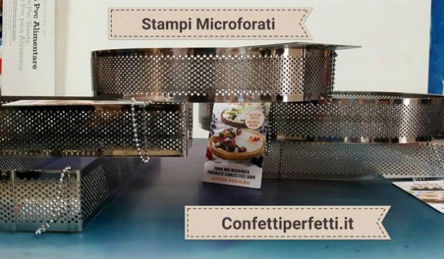 Stampi Microforati in varie forme, anche Monoporzione