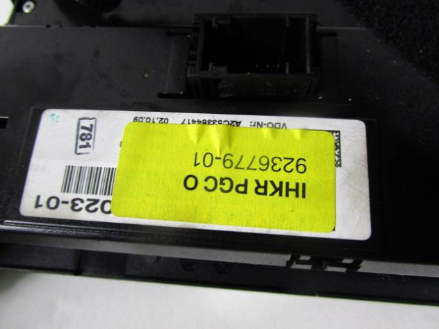 9236779 CENTRALINA CONTROLLO ARIA CONDIZIONATA CLIMA A/C BMW 318D SW 2.0 10 … - Foto 2