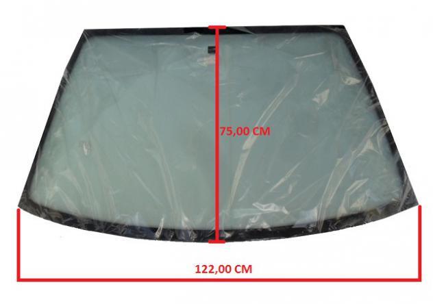 KIN763001001 PARABREZZA VETRO CRISTALLO ANTERIORE COLORATO ITALCAR T2 T3