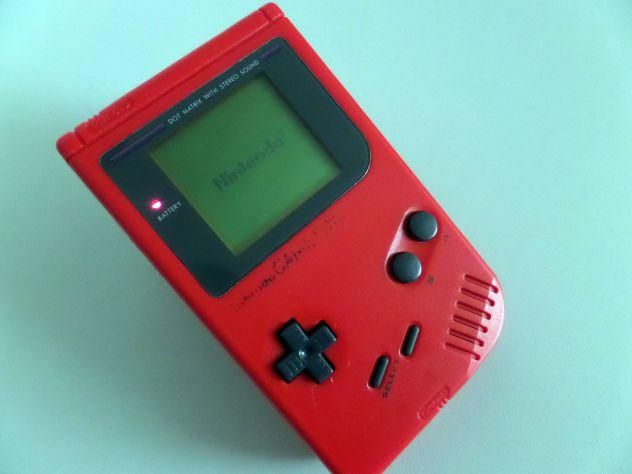 Game Boy Classic rosso + gioco Pokèmon Gold - Foto 2
