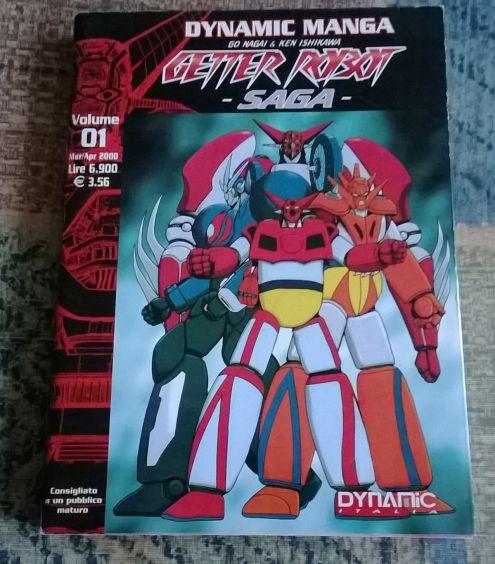 Getter Robot Saga Vol.1-4