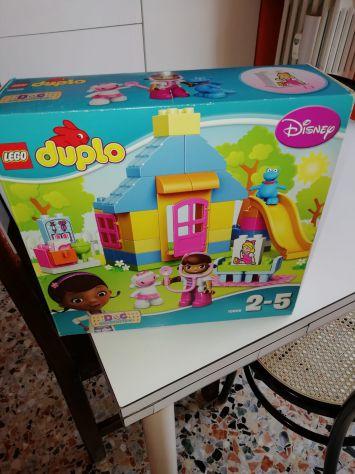 LEGO Duplo Dottoressa Peluche Clinica In Giardino