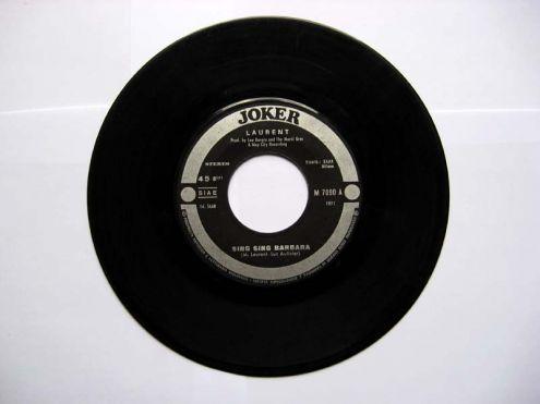 45 giri del 1971-M. Laurent-Singsing Barbara - Foto 2