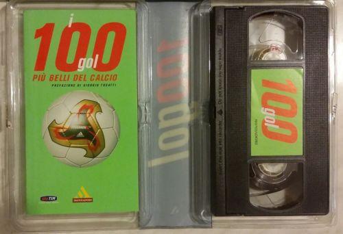 I cento gol più belli del calcio.Con videocassetta+libretto 1°Ed.Mondadori 2002