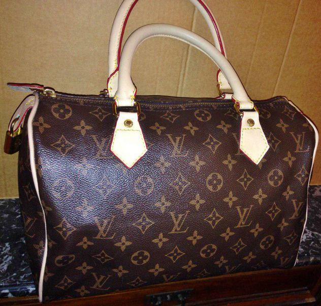 2b219db876 borsa LV LOUIS VUITTON bauletto speedy 30 con codice M41526 monogram bag