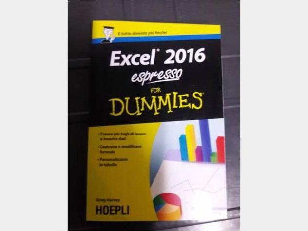 Excel 2016 espresso For Dummies di Greg Harvey Ed Nuovo