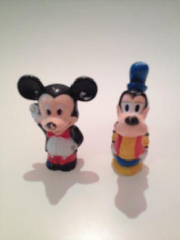 Coppia Topolino e Pippo Walt Disney originali anni '60