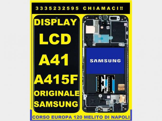 Dsiplay Lcd Originale Samsung A41, A415 Service P Nuovo