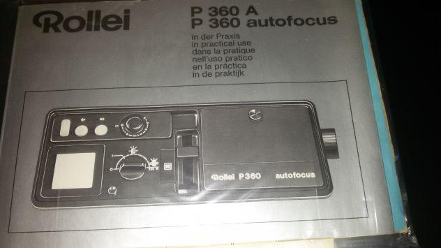 Vendo videoproiettore rollei P360 autofocus anni 70