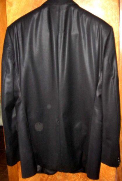 Giacca uomo nero lucido lana 48 I Sarti spacco retro moda fashion moderna   … - Foto 2