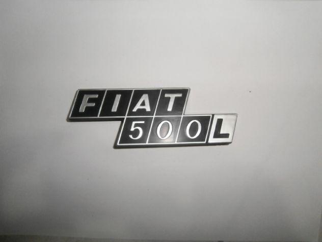 Scritta logo targhetta cofano posteriore Fiat 500L NUOVA