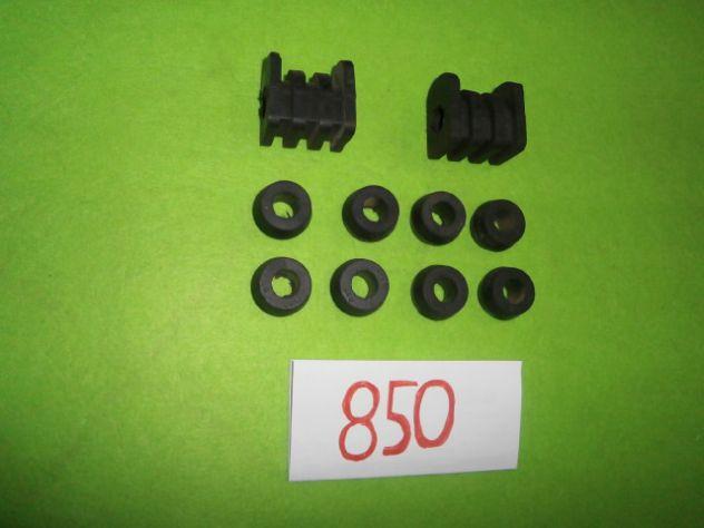 Boccole e tasselli barra stabilizzatrice Fiat 850 sport spider special NUOVI - Foto 3