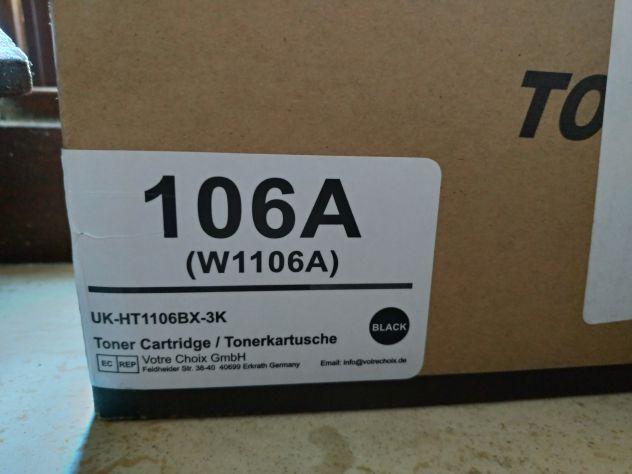 Cartucce Toner per HP W1105A/W1106A/106A - Foto 2
