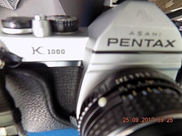 Reflex Pentax K 1000+flash Philips +flash Agfa+pentaprisma ed altro