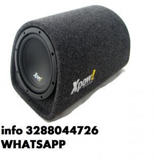 Subwoofer auto bass box 20 cm amplificato da 1200 watt max