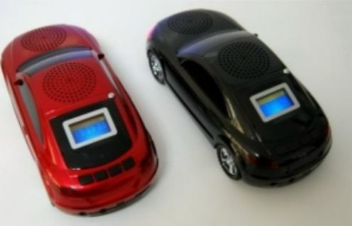 LETTORE PLAYER MP3 CON RADIO A FORMA DI AUTO - Foto 2